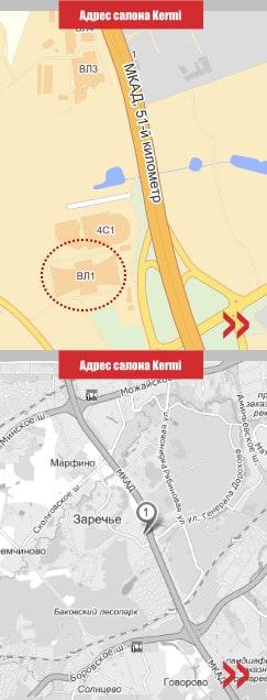 Контактная информация магазина Kermi